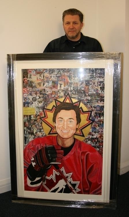 'Saint Gretzky' Framed - drawing - stevenhart | ello