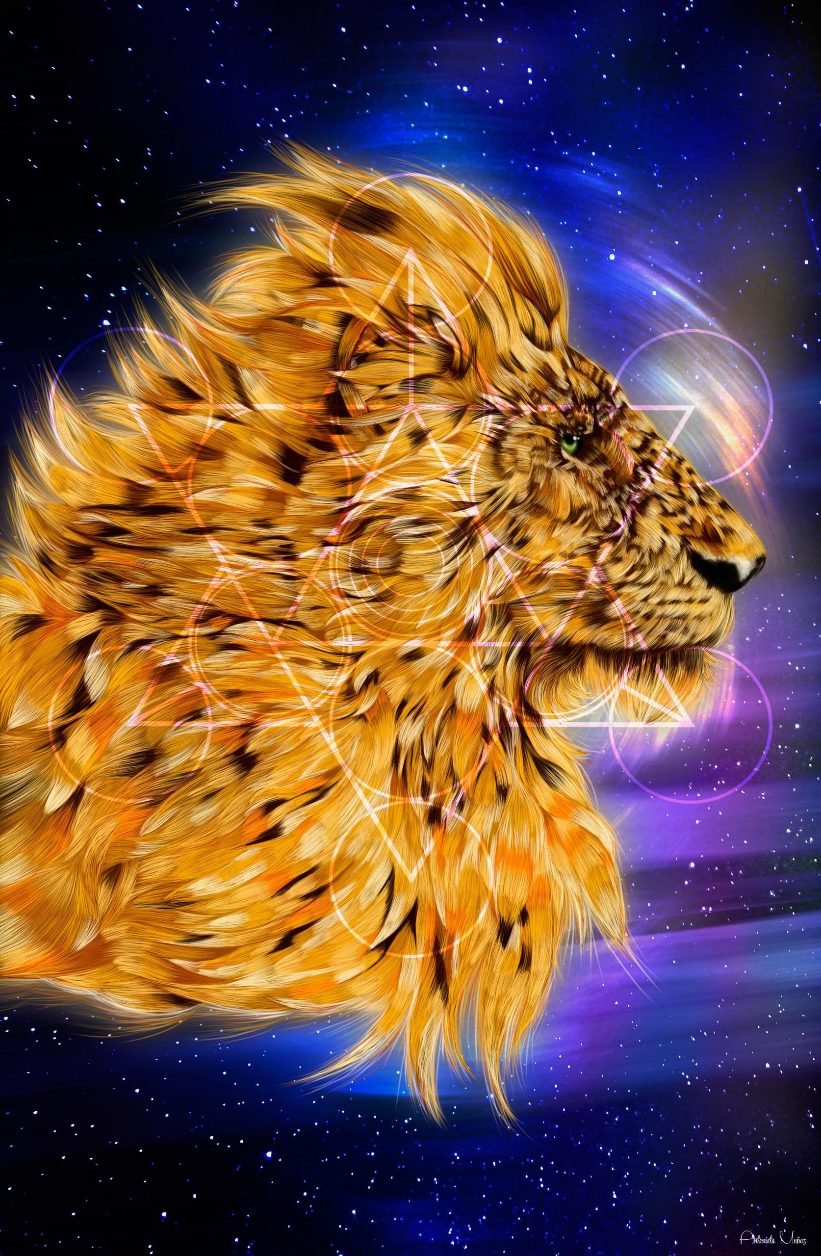 Cosmic Force - illustration, digitalart - kuukistudio | ello