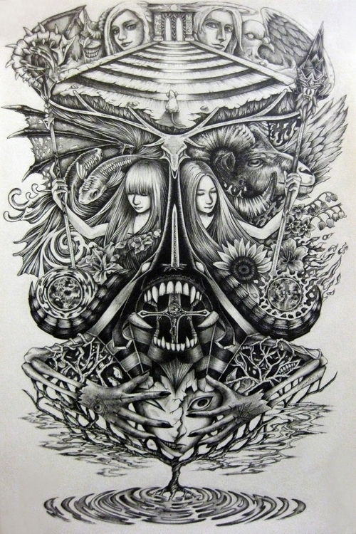 Spirit | Graphite 13 18 2016 - pisces - eugenelin-3895 | ello