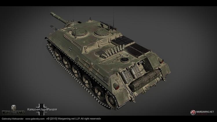 KanonenJagdPanzer. German Tank  - galevsky | ello