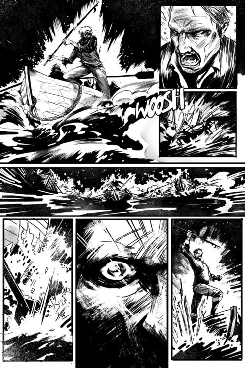 Page Scrimshaw - comics, scrimshaw - ericscottpfeiffer | ello
