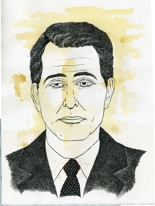 Scott Walker Illiustration - illustration - gtnelson | ello