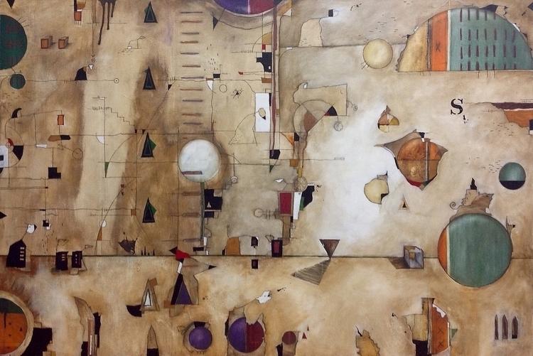 Chronicles: Urbis Orbis - painting - scheufler | ello