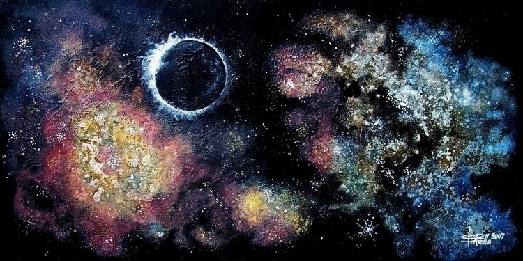 Deep Space 1, 2007, oil canvas - timeship | ello