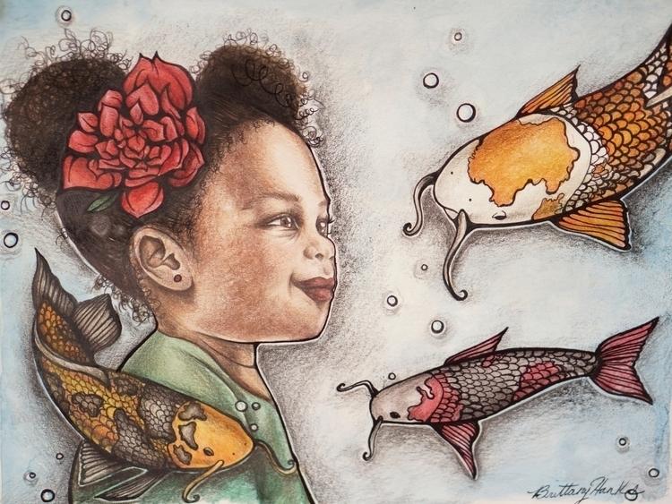 Angelique Koi - childrensbook, childrensillustration - brittanyhanks | ello