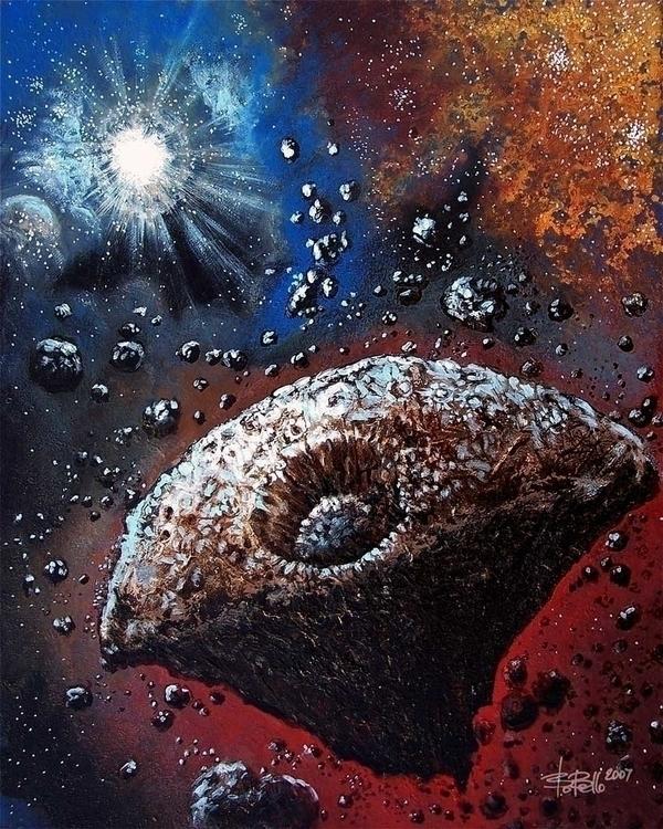 Lies Kronos, 2007, oil canvas,  - timeship | ello