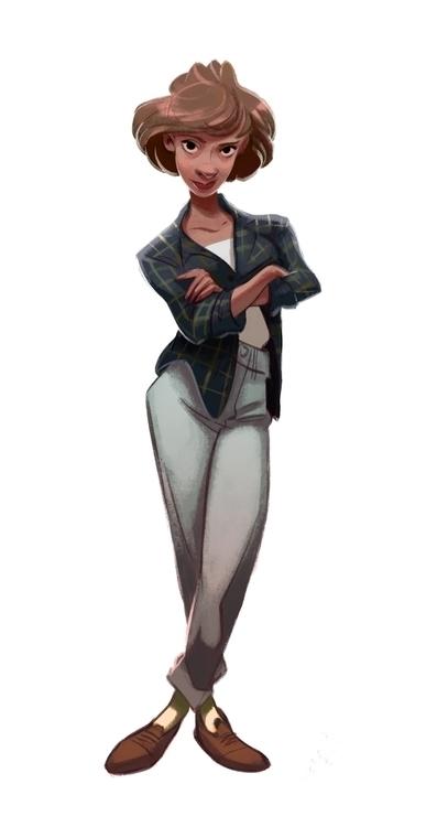 characterdesign, women - carrececile | ello