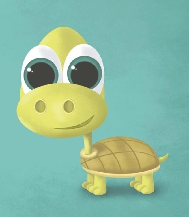 Tortuga - tortoise, animals, character - ainaragm | ello