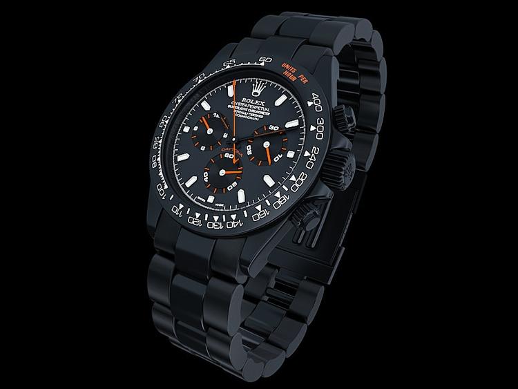 Rolex Daytona - digitalart, 3d, rendering - singular_studio | ello