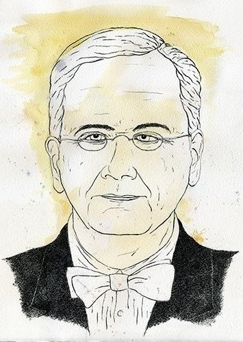 Lawrence Lessig Illustration - portrait - gtnelson | ello