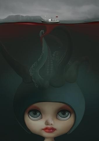 Tentacoli - illustration - cristinafontanaghelfi | ello