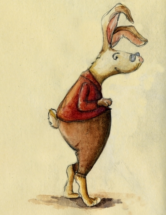 Cow jumps moon - #watercolor#childrens#book#kid - katie_wools | ello
