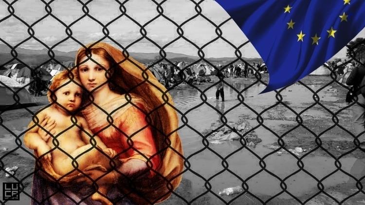 #collage, #humanrights, #politics - lucamendieta   ello