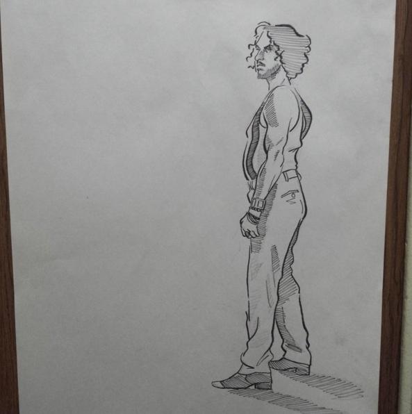 Live drawing - livedrawing, pose - josehdz_illustration | ello