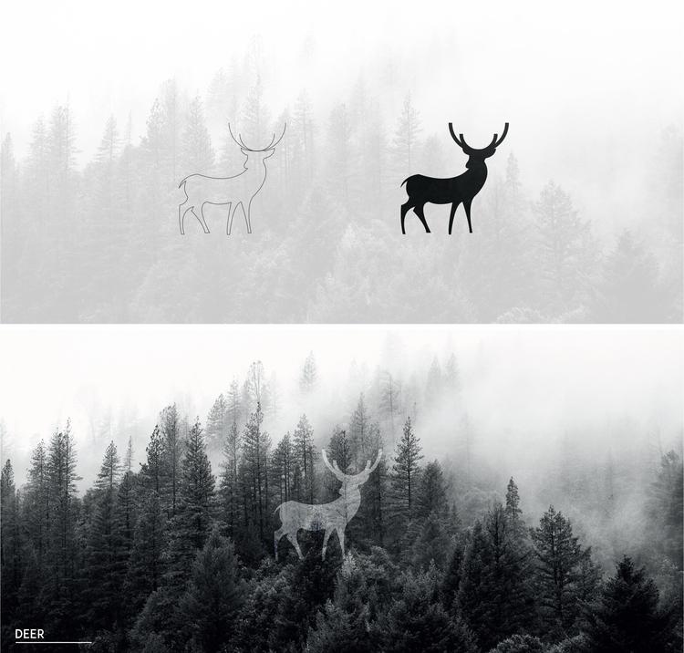 deer - illustration, characterdesign - julls_cutepunk | ello