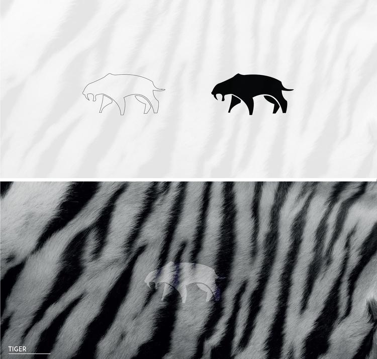 tiger - illustration, characterdesign - julls_cutepunk | ello