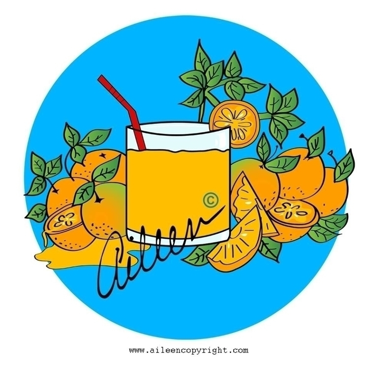 Jugo de Naranja / Orange Juice  - aileencopyright   ello