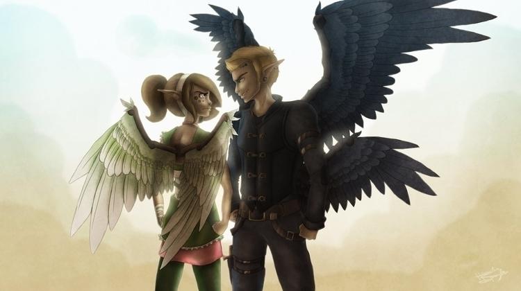 Ruffled Feathers - TheLimitlessCrew - hannahspangler | ello