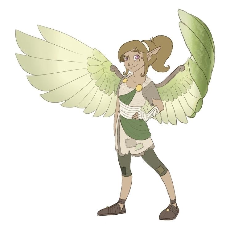 character design - thelimitlesscrew - hannahspangler | ello
