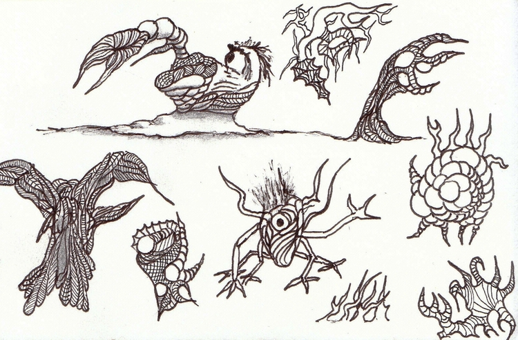 illustration, conceptart, #critter - cheechwiz   ello