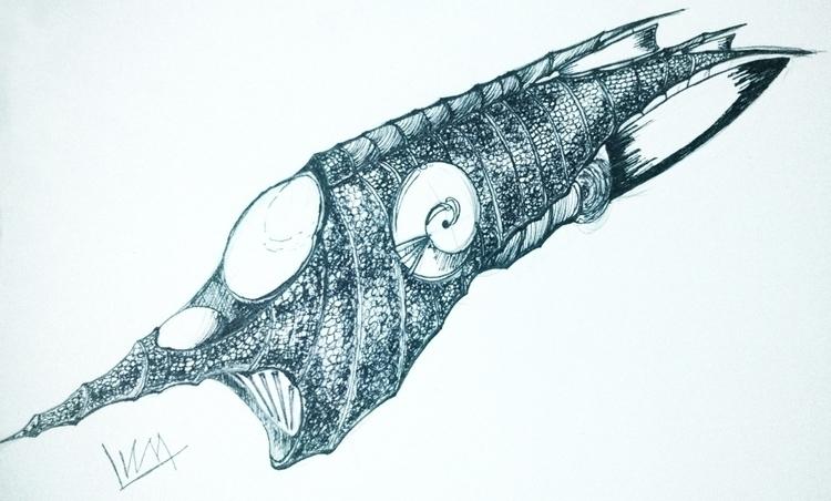 illustration, nautilus, fanart - lewm | ello
