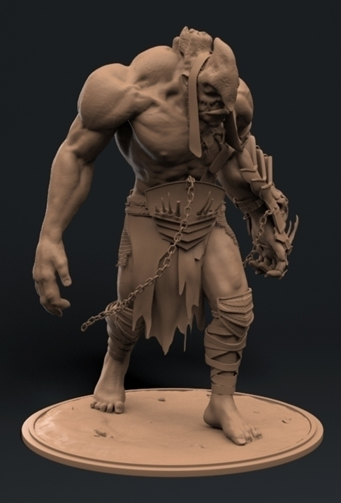 Ogre - characterdesign, art, digitalart - duncan_foster | ello