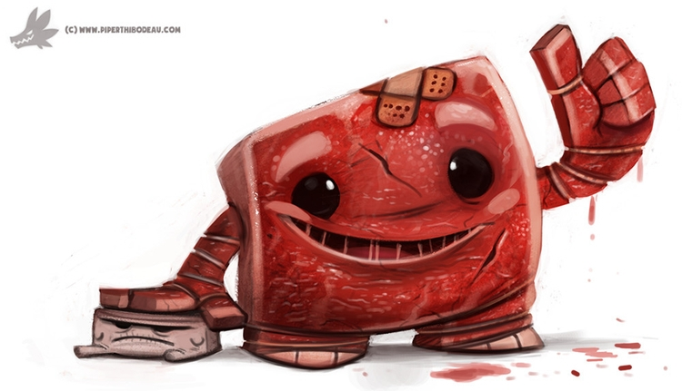 Day 804# Super Meat Tofu) Boy - piperthibodeau | ello