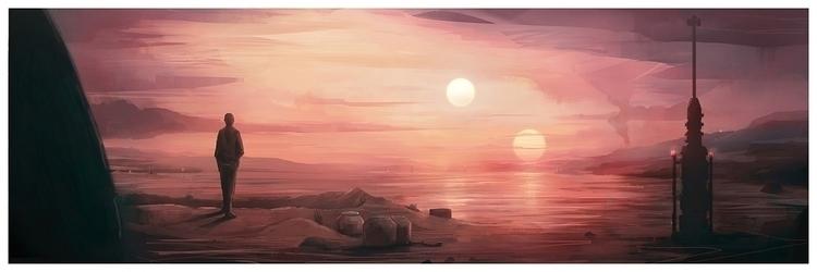 Star Wars: Hope print Jordan Bu - jordan_buckner | ello