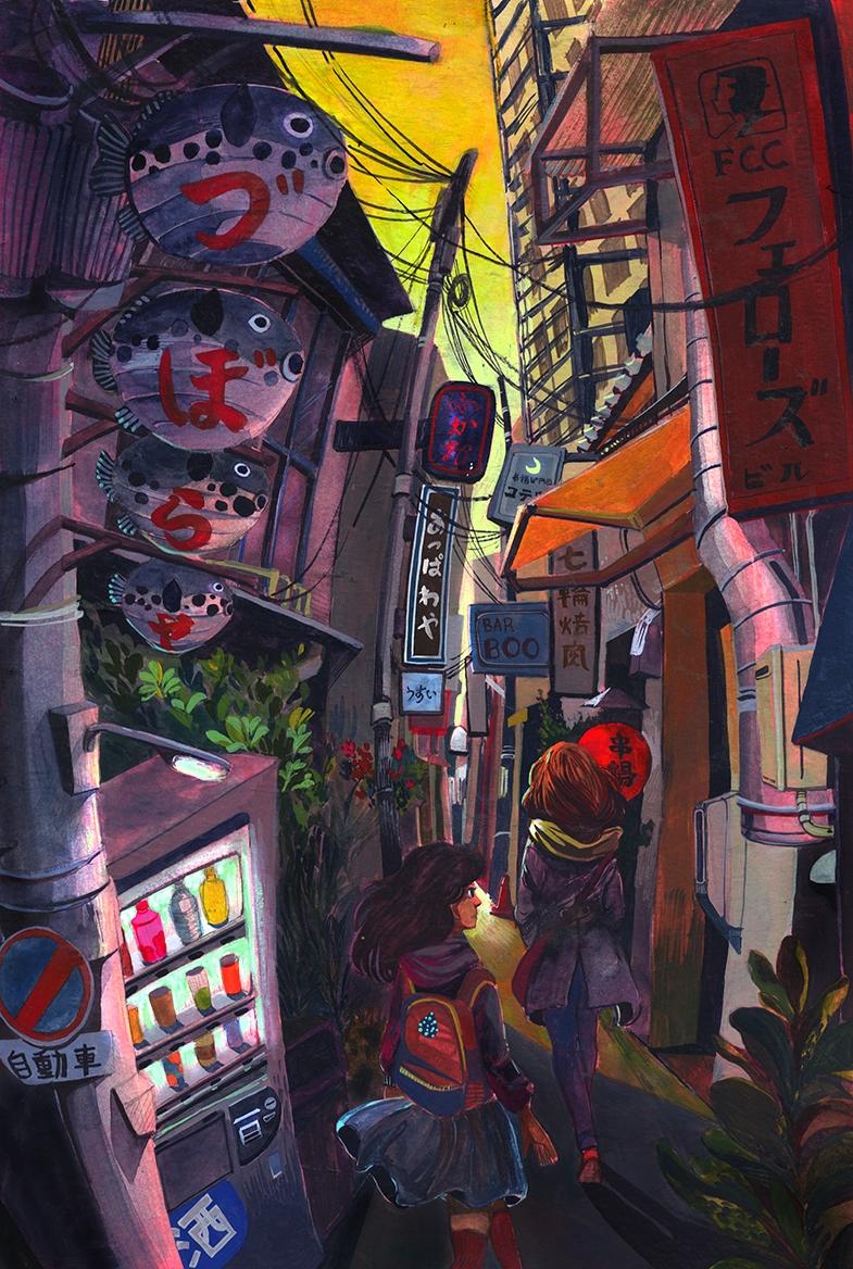 Osaka Alleyway - malisasuchanya - lisabanana | ello