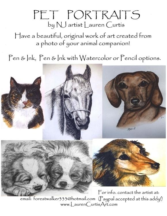 Pet portraits publications priv - laurencurtis | ello