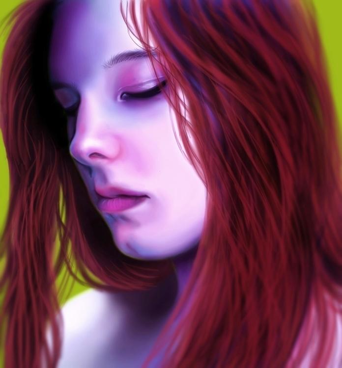 illustration, digitalart, digitalpainting - cervidae-1054   ello