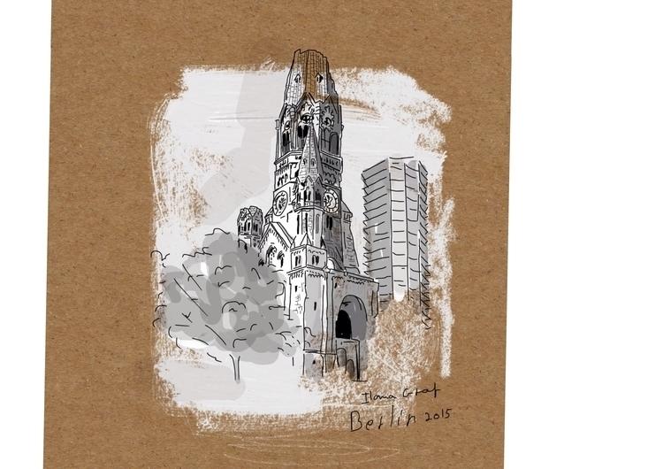 Berlin - berlin, Building, Church - ilanagraf   ello