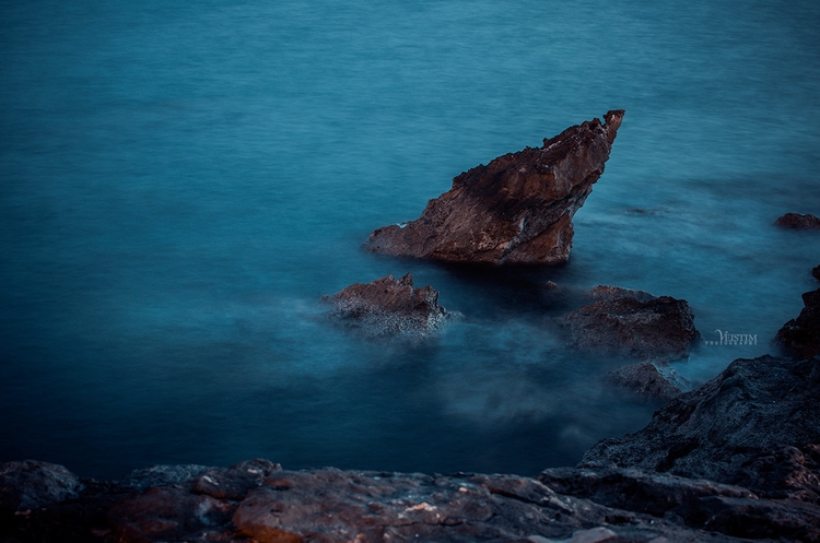 Filave. Long exposure - blue, nature - veistim | ello