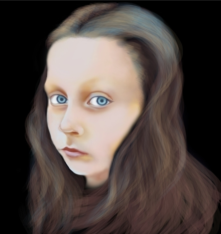 portrait finish - illustration, digitalpainting - cervidae-1054 | ello