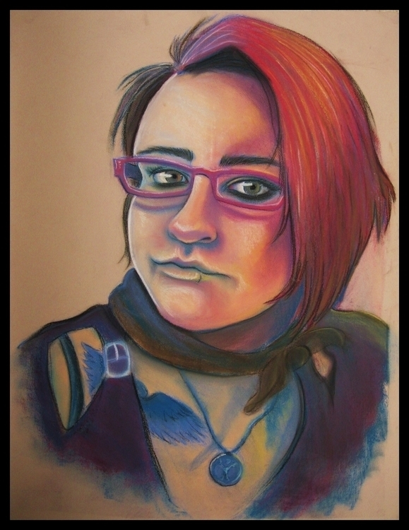 illustration, portrait, selfportrait - cervidae-1054 | ello