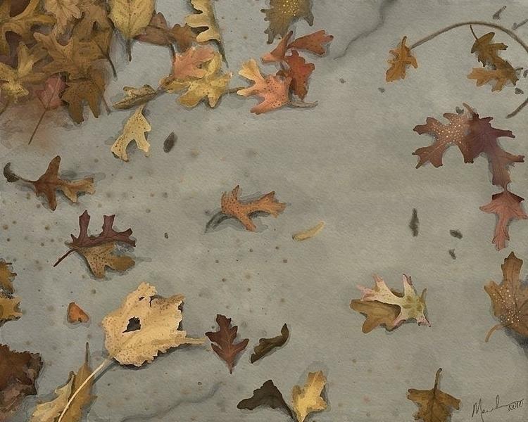 love fall rain. Snapped picture - dmerchen | ello