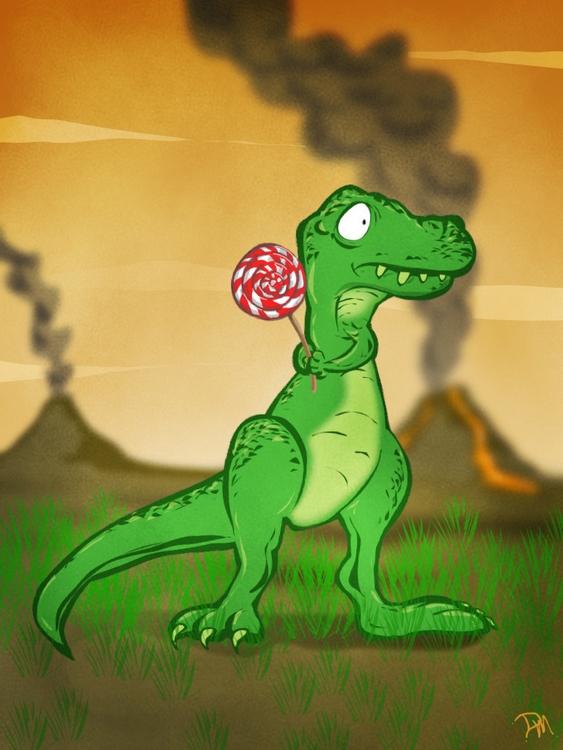 Dinosaurs lollipops turn fun st - dmerchen | ello