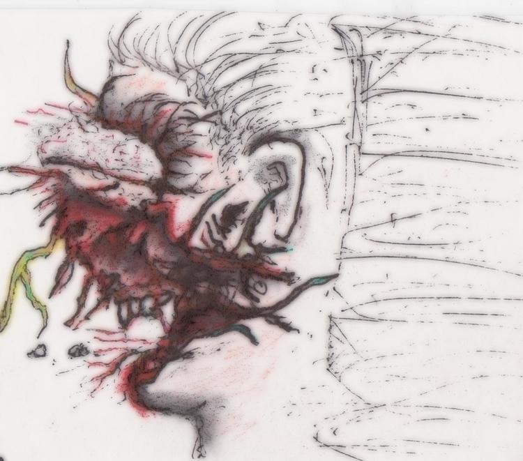Blown - #wurms, illustration, characterdesign - cheechwiz | ello