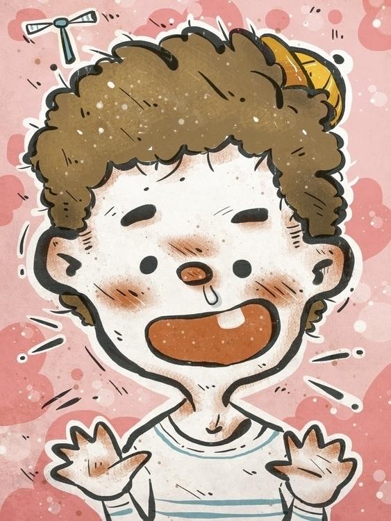 work illustration - kid - kidsillustration - bingtai   ello