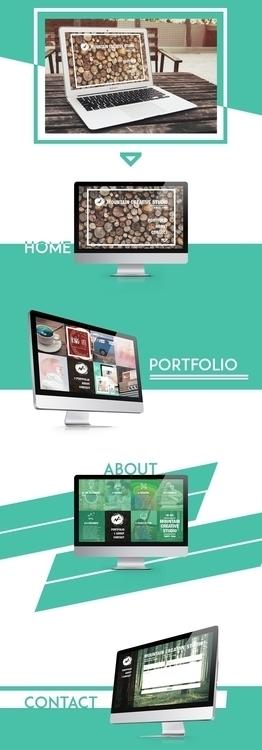 Website Mountain Creative Studi - lady_m   ello