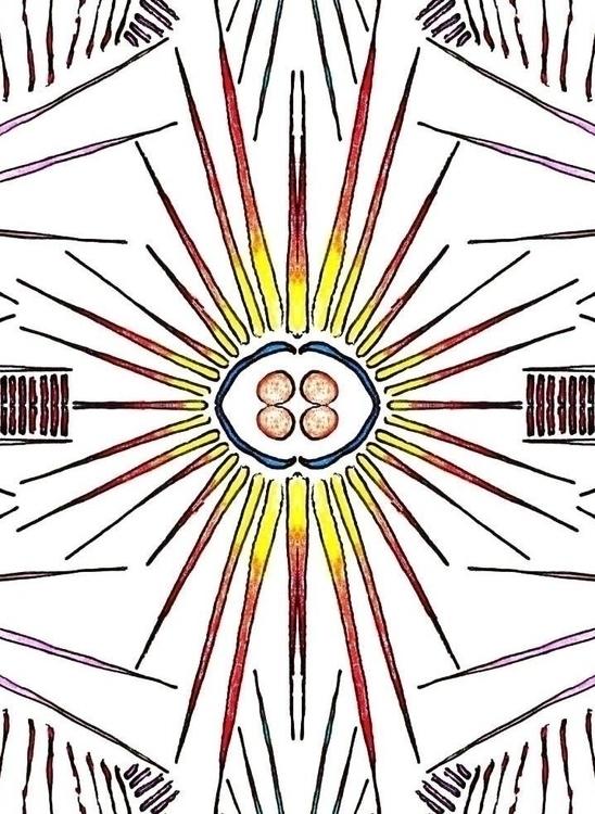 Spikes - #abstract, illustration - cheechwiz | ello