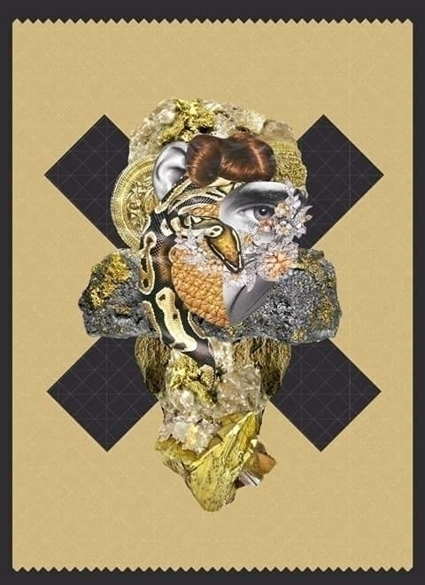Snake - #digitalillustration, #collage - alexiacas | ello
