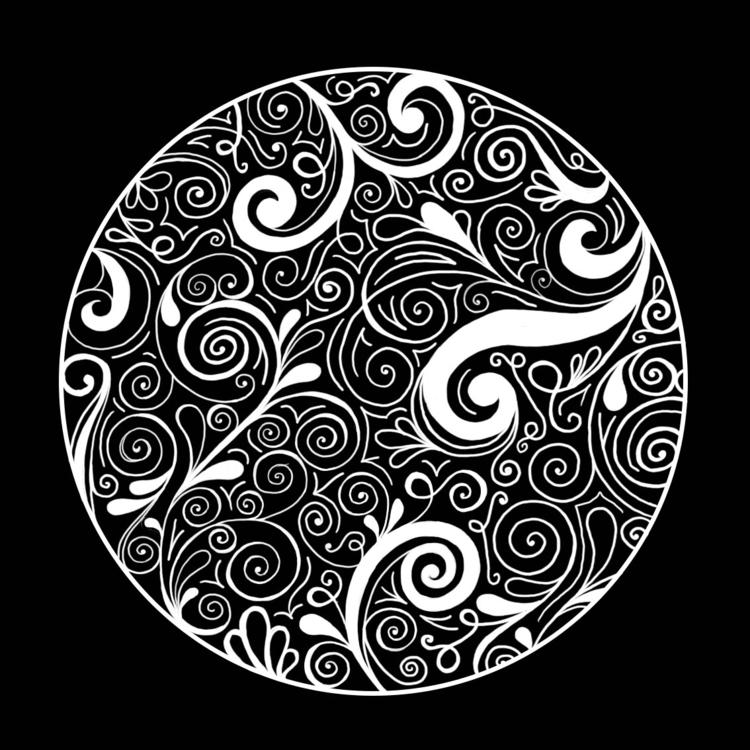 circle, swirls, blackandwhite - ashleyr-6440 | ello