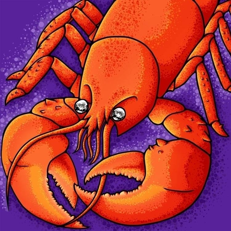 Watch claws - lobster, red, purple - jellysoupstudios | ello