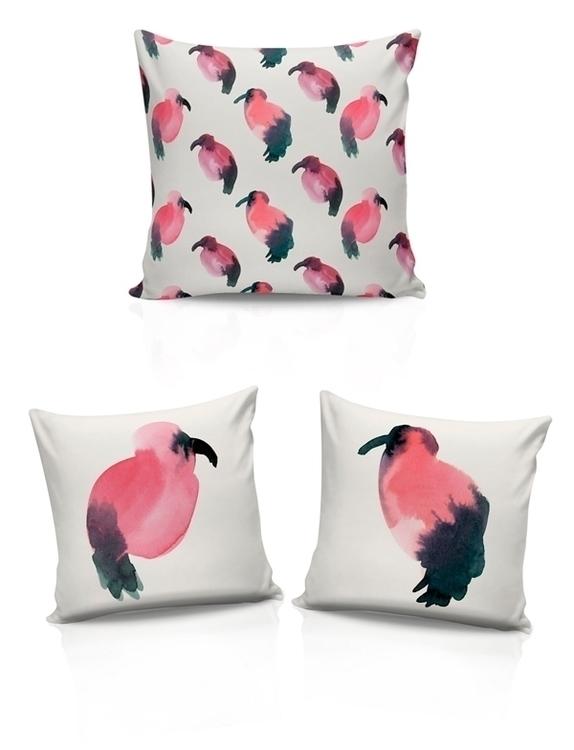 Mystic Ibis pattern - patterndesign - anarey | ello