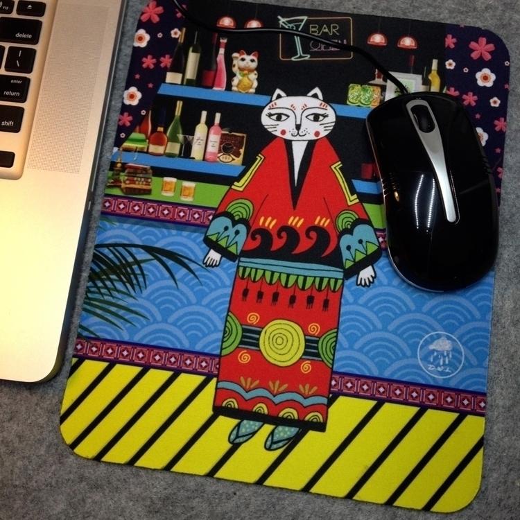 Mouse pad?Matcat pad?Mat/Natura - vivienne-2076 | ello