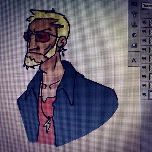 Gangster - illustration, characterdesign - ajitvaidya | ello