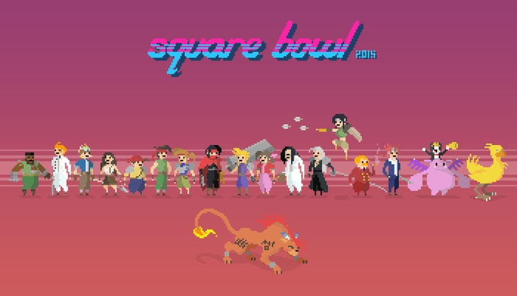 SQUARE BOWL 2015 - Final Fantas - planckpixels | ello