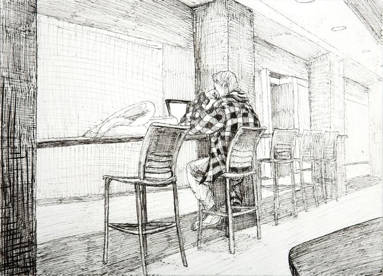 Alive Plugged - 1 11 - drawing, personal - ejaworenko | ello