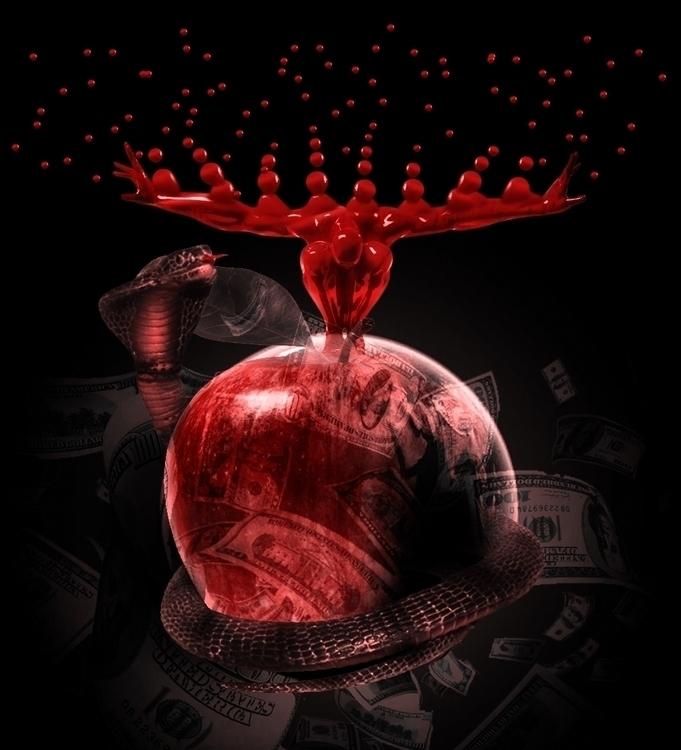 Evil Money - conceptart - silvion | ello
